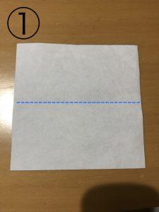 簡単な箱の折り方1