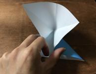 折り紙のちょうの折り方 蝶42