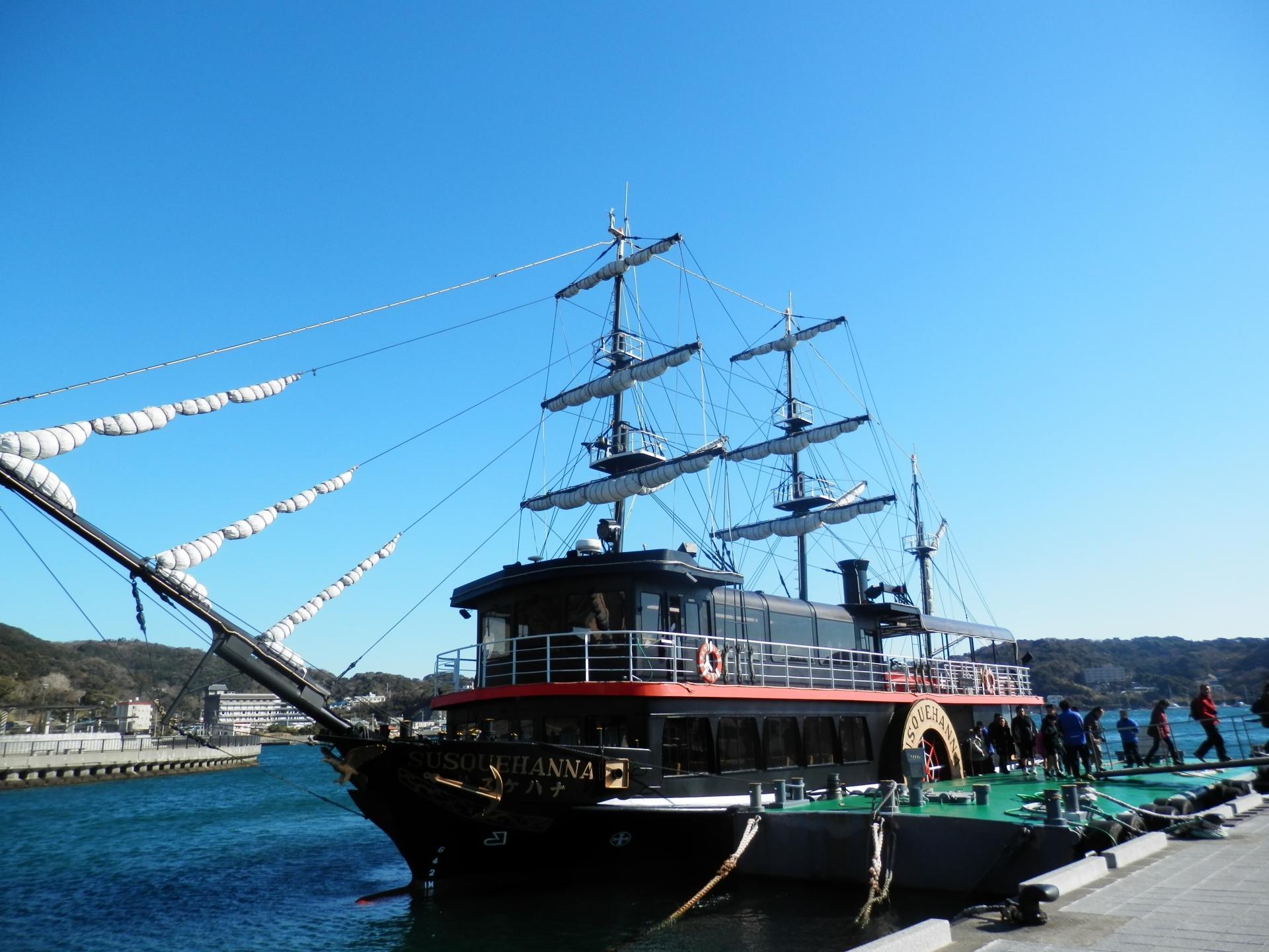 下田のお寺や遊覧船